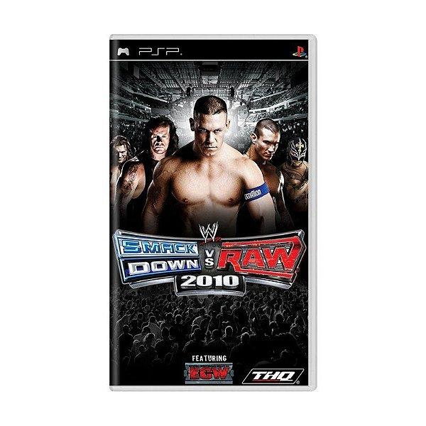 Usado: Jogo WWE Smackdown VS Raw 2010 - PSP
