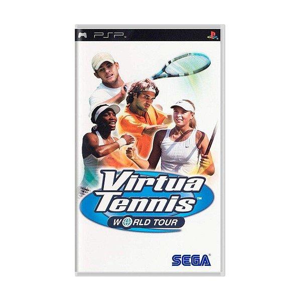 Usado: Jogo Virtua Tennis World Tour ( Sem Capa) - PSP