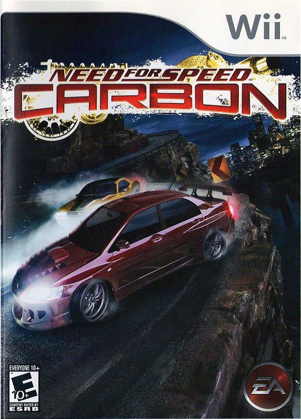 Usado: Jogo Need For Speed Carbon - Wii