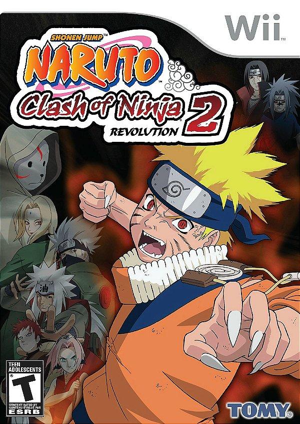 Usado: Jogo Naruto Clash of Ninja Revolution 2 - Wii