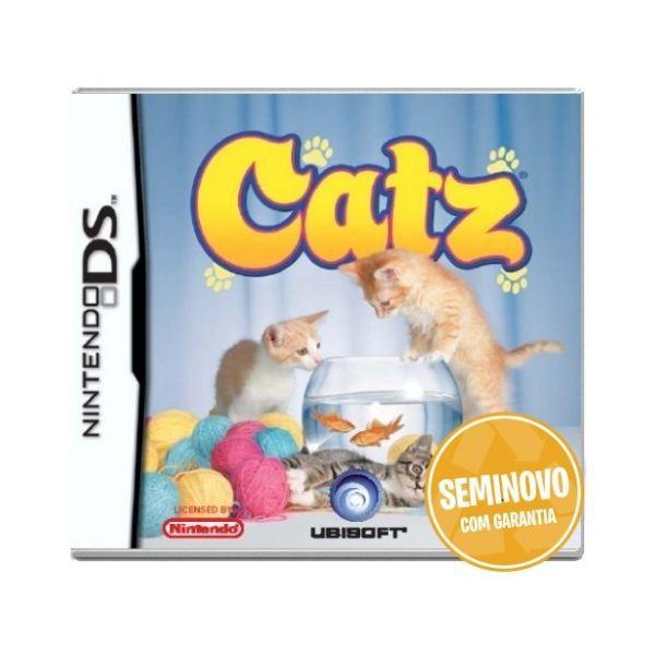 Usado: Jogo Catz ( sem estojo) - Nintendo DS