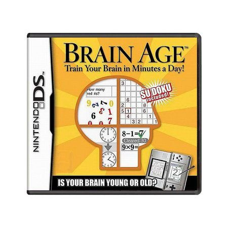 Usado: Jogo Brain Age (sem estojo) - Nintendo DS