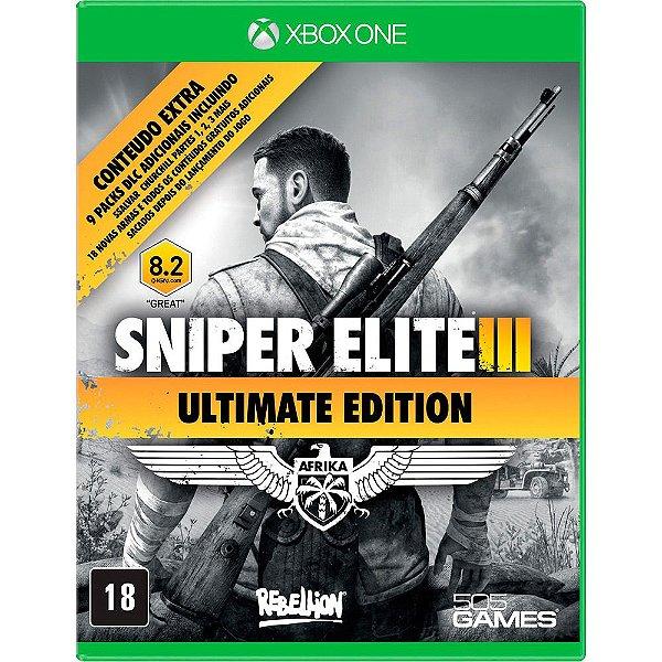 Usado: Jogo Sniper Elite III - Ultimate Edition - Xbox One