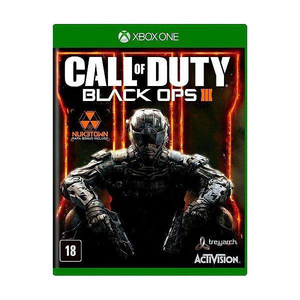Usado: Jogo Call of Duty Black Ops III - Xbox One