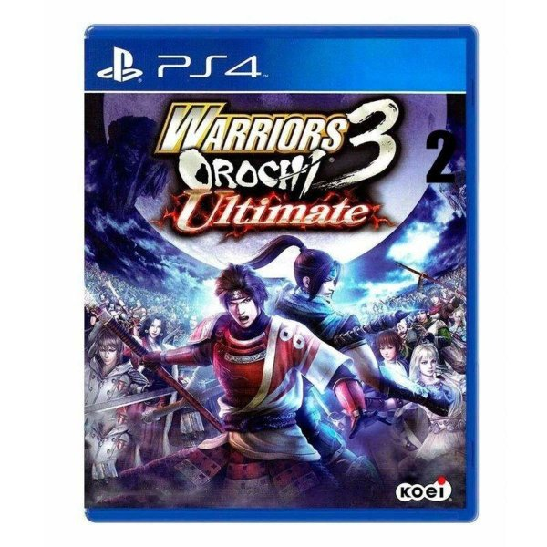 Usado: Jogo Warriors Orochi Ultimate 3 - PS4