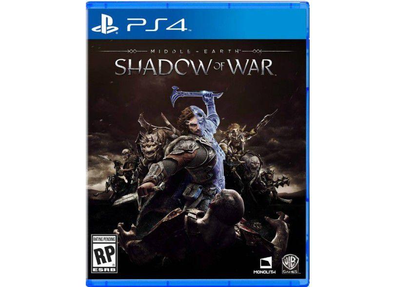 Usado: Jogo Terra Média Sombras da Guerra - PS4