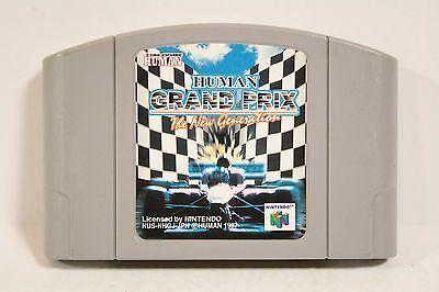 Usado: Jogo Human Grand Prix The New Generation - Nintendo 64