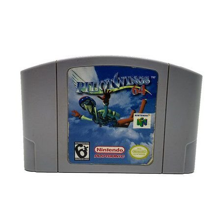 Usado: Jogo Pilotwings ( Japonês ) - Nintendo 64