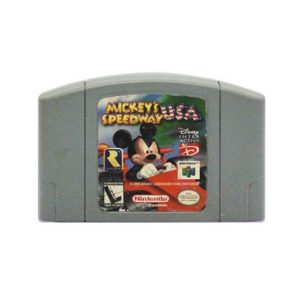Usado: Jogo Mickey's Speedway USA ( Japonês ) - Nintendo 64