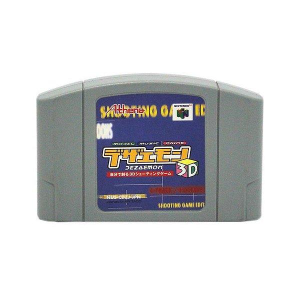 Usado: Jogo Dezaemon 3D ( Japonês) - Nintendo 64