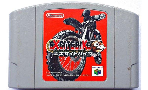 Usado: Jogo Excitebike 64 - Nintendo 64