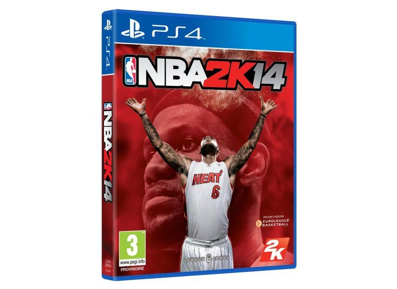 Usado: Jogo NBA 2K14 - PS4