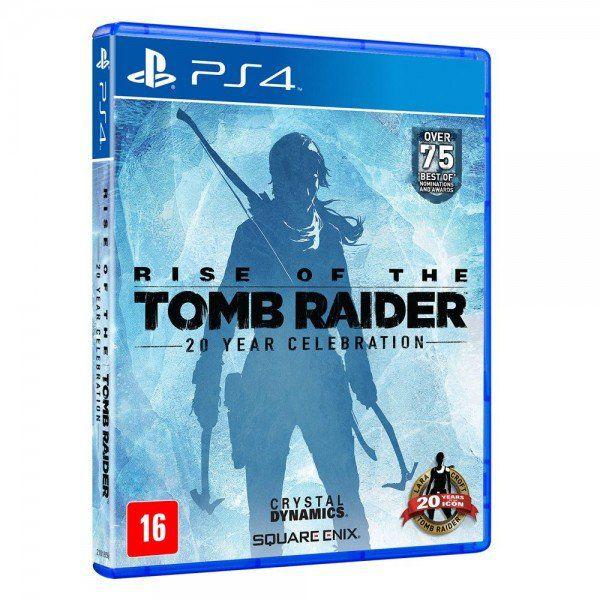 Usado: Jogo Rise Of The Tomb Raider - 20 Year Celebration  - PS4