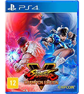 Usado: Jogo Street Fighter V - Champion Edition - PS4