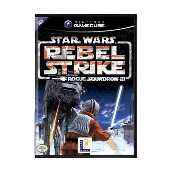 Usado: Jogo Star Wars Rogue Squadron III: Rebel Strike - GameCube