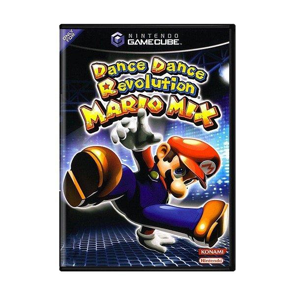 Usado: Jogo Dance Dance Revolution: Mario Mix - Game Cube