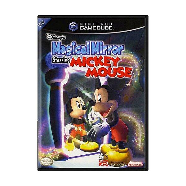 Usado: Jogo Disney's Magical Mirror Starring Mickey Mouse - Game Cube
