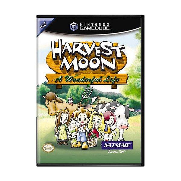 Usado: Jogo Harvest Moon: A Wonderful Life - Game Cube