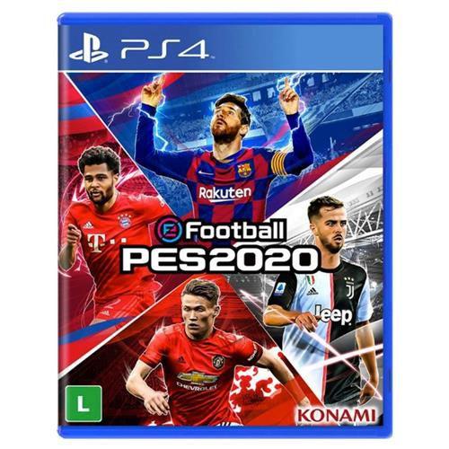 Usado: Jogo eFootball PES 2020 - PS4