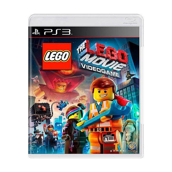 Usado: Jogo Lego Movie: The Video Game - PS3