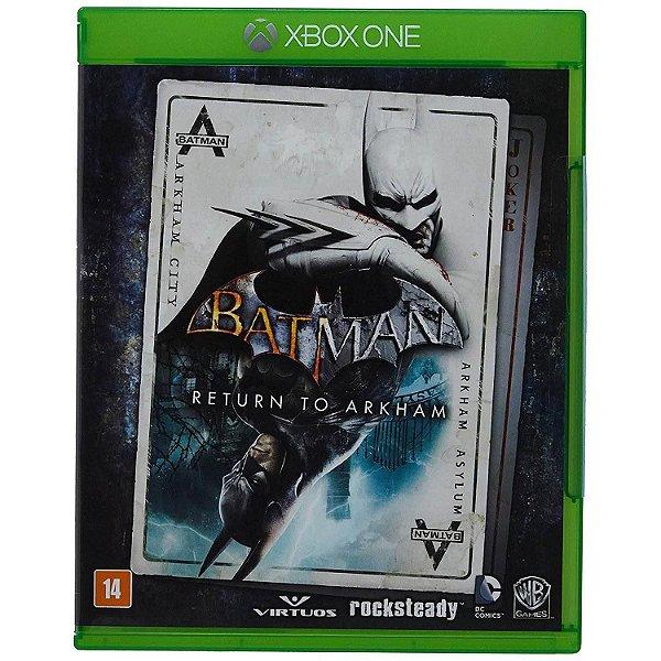 Usado: Jogo Batman: Return To Arkham - Xbox One