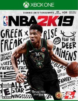 Usado: Jogo NBA 2K19 - Xbox One