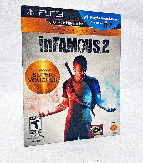 Usado: Jogo Infamous 2 Collection ( Embalagem Cartão) - PS3