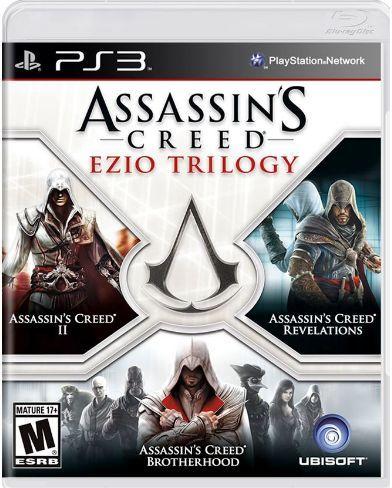 Usado: Jogo Assassins Creed - Ezio Triology - PS3