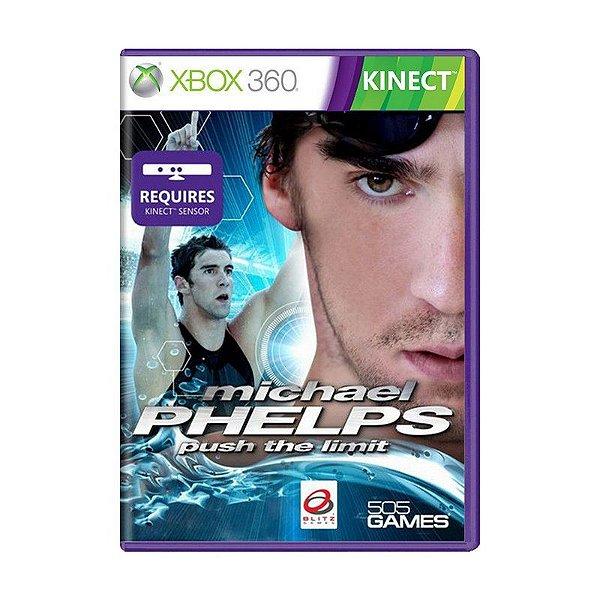 Usado: Jogo Michael Phelps: Push The Limit - Xbox 360