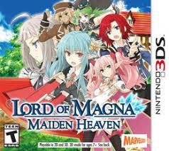 Usado: Jogo Lord of Magna: Maiden Heaven - Nintendo DS