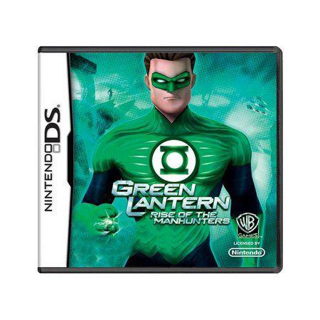 Usado: Jogo Green Lantern: Rise Of The Manhunters - Nintendo DS