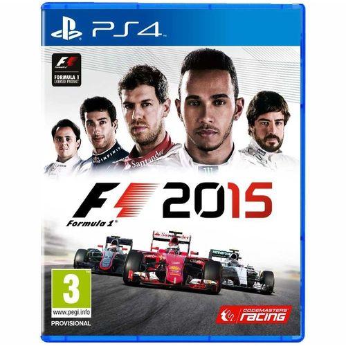 Usado: Jogo F1 2015 - PS4