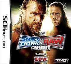 Usado: Jogo WWE Smackdown VS Raw 2009 - Nintendo DS