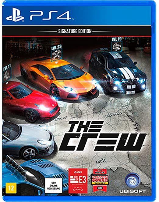 Usado: Jogo The Crew - Signature Edition - PS4