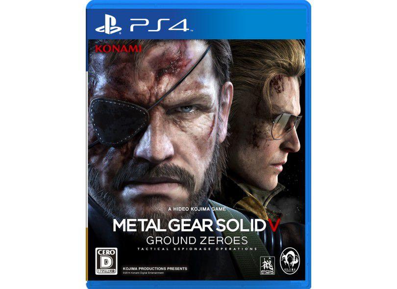 Usado: Jogo Metal Gear Solid V: Ground Zeroes - PS4
