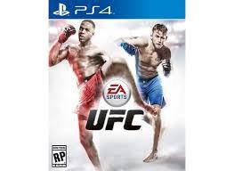 Usado: Jogo UFC - PS4