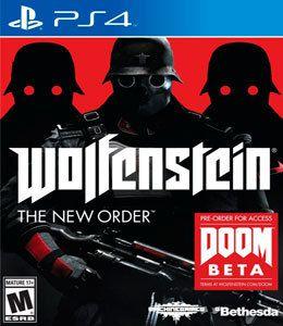 Usado: Jogo Wolfenstein: The New Order - PS4