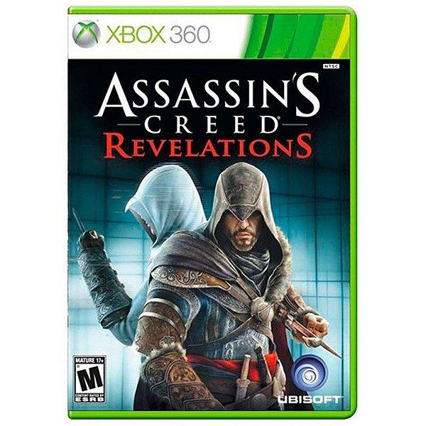 Usado: Jogo Assassins Creed Revelations - Xbox 360