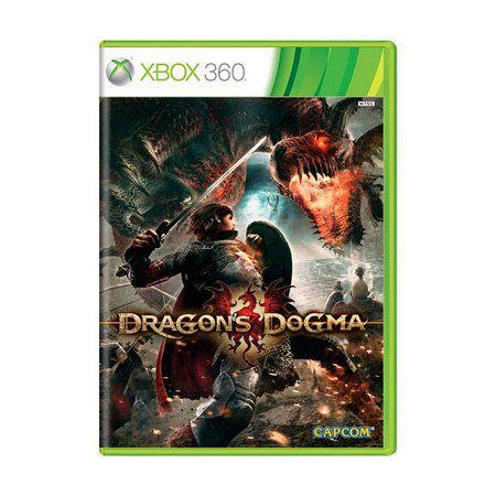 Usado: Jogo Dragon's Dogma - Xbox 360