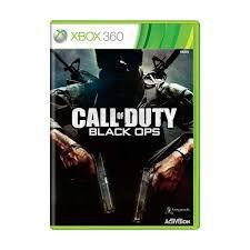 Usado: Jogo Call of Duty Black Ops - Xbox 360