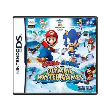 Usado: Jogo Mario & Sonic Olympic Winter Games - Nintendo DS
