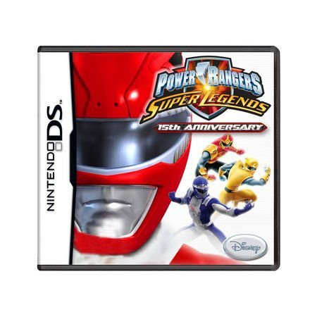 Usado: Jogo Power Rangers: Super Legends - 15th Anniversary - Nintendo DS