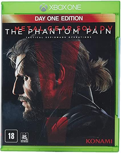 Usado: Jogo Metal Gear Solid V: The Phantom Pain - Day One Edition - Xbox One