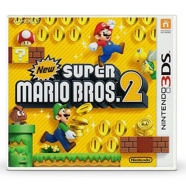 Usado: Jogo New Super Mario Bros 2 - Nintendo 3DS