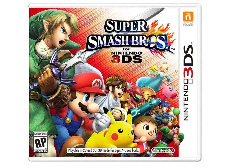 Usado: Jogo Super Smash Bros - Nintendo 3DS