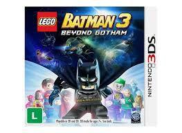 Usado: Jogo Lego Batman 3 Beyond Gotham - Nintendo 3DS