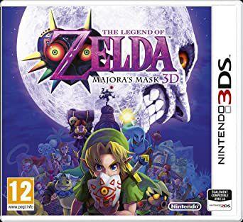 Usado: Jogo Zelda Majora's Mask - Nintendo 3DS
