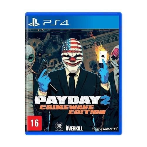 Novo: Jogo Payday 2: Crimewave Edition - PS4