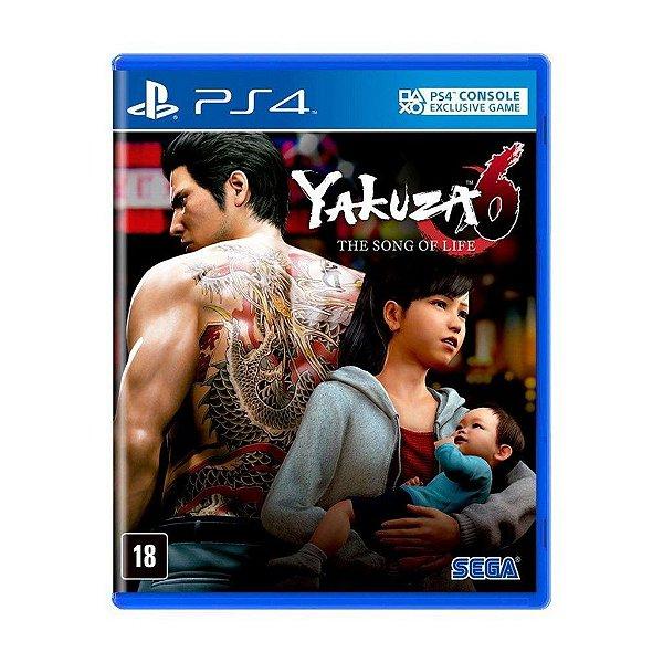 Jogo Yakuza 6 - The Song Of Life - PS4