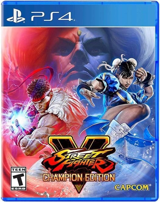 Jogo Street Fighter V Champion Edition - PS4